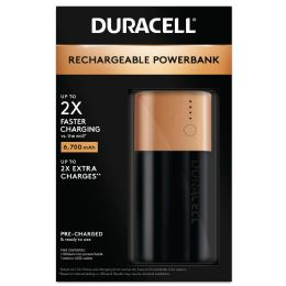 4 Units of Duracell Power Bank 2 Day - Batteries