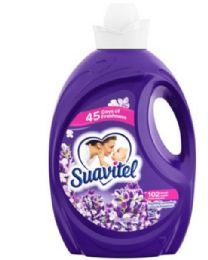 4 Units of Suavitel Fabric Softener 135 Oz Lavender - Laundry Detergent