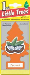 24 Units of Little Tree Coconut Car Freshener 1's - Air Fresheners