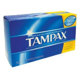 48 Units of TAMPAX 10CT REGULAR - Personal Care Items