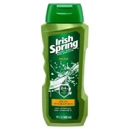 6 Units of IRISH SPRING BODY WASH 18 OZ GEAR HYDRATING - Soap & Body Wash