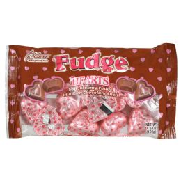 24 Units of FUDGE HEARTS 4.5 OZ - Food & Beverage