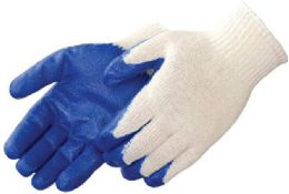 10 Units of Work Gloves Blue Palm - Working Gloves