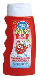 6 Units of White Rain Kids 3 In 1 Shampoo/conditioner/bodywash Strawberry Splash 12 oz - Shampoo & Conditioner