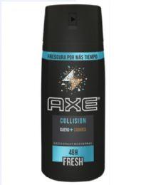 12 Units of AXE SPRAY 150 ML COLLISION 12/PK - Deodorant