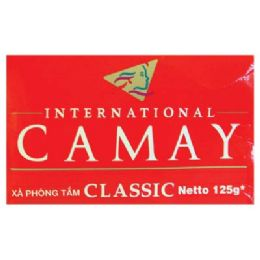 72 Units of CAMAY BAR SOAP 125G RED - Soap & Body Wash