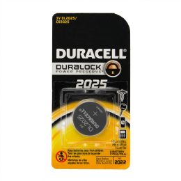 144 Units of Duracell Lithium Coin 2025-1 - Batteries