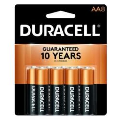48 Units of Duracell Aa 8 Pk Coppertone Batteries - Batteries