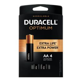 24 Units of Duracell Optimum Aa4 - Batteries
