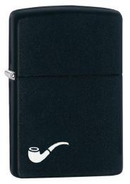 ZIPPO BLACK MATTE COLOR IMAGE - Lighters