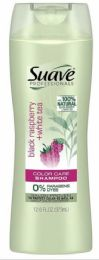 6 Units of Suave Shampoo 12.6 Oz Black Raspberry And White Tea - Shampoo & Conditioner