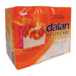 24 Units of DALAN HONEY AND MILK SOAP 3PK - Soap & Body Wash