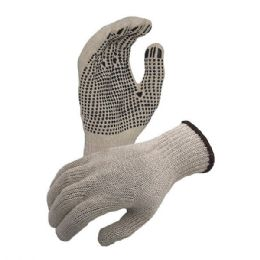 12 Units of Work Gloves White Dot - Working Gloves