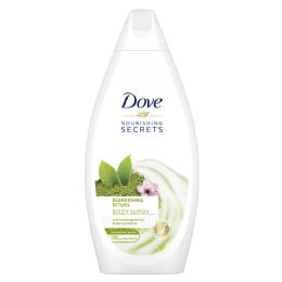 12 Units of Dove Bodywash 500 Ml Matcha - Soap & Body Wash