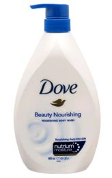 12 Units of DOVE BODYWASH 800 ML BEAUTY NOURISHING WITH PUMP 27.05 OZ - Store