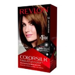 12 Units of COLOR SILK #54 LIGHT GOLDEN BROWN - Hair Products