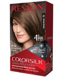 12 Units of COLOR SILK #41 MEDIUM BROWN - Hair Products
