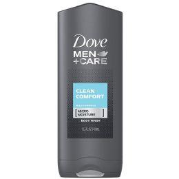 12 Units of DOVE BODYWASH 400 ML CLEAN COMFORT MEN - Store