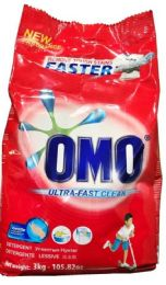 4 Units of Omo 3 Kg Powder Laundry Detergent Ultra Clean - Laundry Detergent