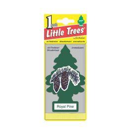 24 Units of LITTLE TREE ROYAL PINE CAR FRESHENER 1'S - Air Fresheners