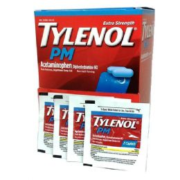 25 Units of TYLENOL PM 2PK BOX - Pain and Allergy Relief