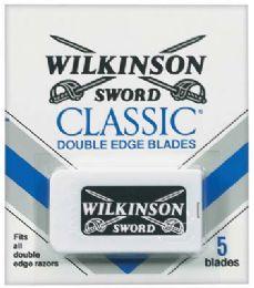 60 Units of Wilkinson Sword Double Edge Blades 5 ct - Shaving Razors