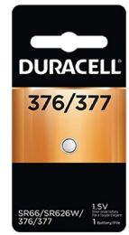 36 Units of DURACELL SILVER OXIDE 377-1 - Batteries