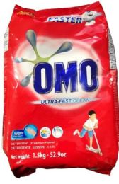 9 Units of Omo 1.5 Kg Powder Laundry Detergent Ultra Clean - Laundry Detergent