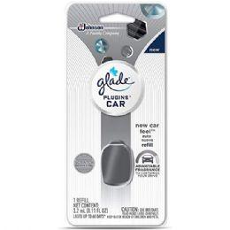 6 Units of GLADE CAR NEW CAR REFILL .11 OZ - Air Fresheners