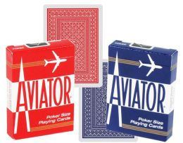 12 Units of AVIATOR PLAYING CARD POKER - Playing Cards, Dice & Poker