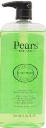 12 Units of PEARS GREEN BODYWASH 8.41 OZ LEMON FLOWER EXTRACT - Soap & Body Wash