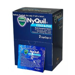 25 Units of NYQUIL 2PK BOX - Pain and Allergy Relief