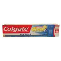 24 Units of COLGATE TOTAL 7.8z WHITE GEL - Toothbrushes and Toothpaste