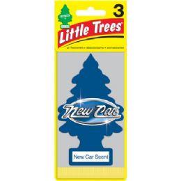 24 Units of LITLE TREE NEW CAR CAR FRESHENER 1'S - Air Fresheners