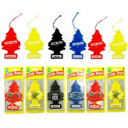 24 Units of Little Tree Classic Car Freshener Assorted 1's - Air Fresheners