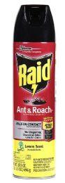 12 Units of RAID ANTANDROACH KILLER LEMON 17.5 OZ - Bug Repellants