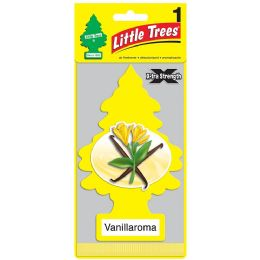 24 Units of LITTLE TREE VANILLA ROMA CAR FRESHENER 1'S - Air Fresheners
