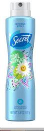 12 Units of SECRET SPRAY 3.8 OZ COOL WATER LILY - Deodorant