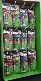 60 Units of KRAZY GLUE ALL PURPOSE FLOOR DISPLAY (517/484/945/866) DISPLAY (KG7002FLPP) - Glue