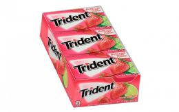 12 Units of TRIDENT GUM 12/14'S BERRY/LIME - Food & Beverage