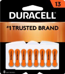 36 Units of DURACELLHEARING AID 13 - Batteries