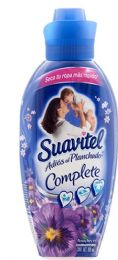 12 Units of Suavitel Complete Fabric Softener 800 Ml Anochecr Dark Blue - Laundry Detergent