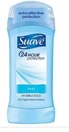 12 Units of SUAVE I/S 2.6 OZ - SHOWER FRESH - Deodorant