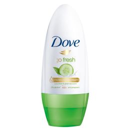 24 Units of DOVE DEOD ROLL ON 50 ML CUCUMBER AND GREEN TEA - Deodorant