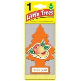 24 Units of Little Tree Peachy Peach Car Freshener 1's - Air Fresheners