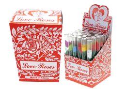 Glass Min Rose Box 50 Pcs - Party Supplies