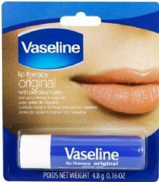 24 Units of VASELINE LIP THERAPY 0.16 OZ ORIGINAL - Lip Gloss