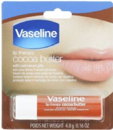 24 Units of VASELINE LIP THERAPY 0.16 OZ COCO BUTTER - Lip Gloss