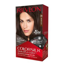 12 Units of COLOR SILK #20 BROWN BLACK - Hair Products