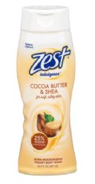 6 Units of Zest Body Wash 16.5oz Indulgence Coco Butter And Shea - Soap & Body Wash